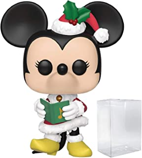 Disney: Holidays - Holiday Minnie Mouse Pop! Vinyl Figure (Includes Compatible Pop Box Protector Case)