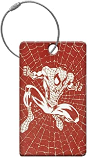 Performance IDs High Visibility SPIDERMAN Bag Spotter - Travel ID Tag - Luggage Tag - Bag ID - ID Travel Tag - Sports Bag ID - Travel Spotter- Kids School Bag Identifier