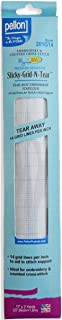 Pellon Pellon Sticky-Grid-N-Tear for Embroidery and Counted Cross Stitch, 11 by 2-Yard, White, 201G14, White, 11 by 2-Yard