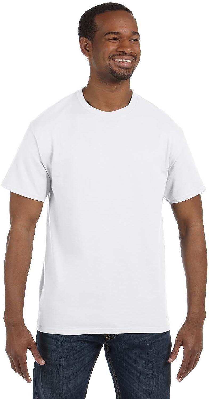 Jerzees Tall 5.6 Oz., 50/50 Heavyweight Blend T-Shirt (29MT) White