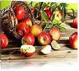 Apfelkörbe Äpfel Früchte Äpfel an Bäumen Format: 60x40