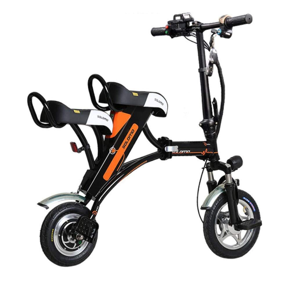 CYGGL Parent-Child Electric Car Adultos Scooter eléctrico Plegable ...