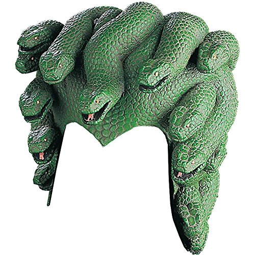 Rubie's Costume Medusa Serpent Headpiece, Green, One Size