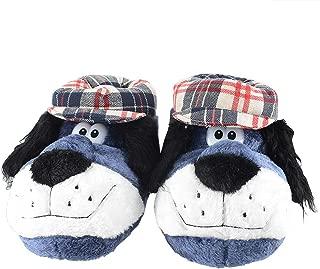 KushyShoo Christmas Slippers Fluffy Cozy Memory Foam Shoes, Warm Anti-Slip Cotton Animal House Slippers Winter Adults