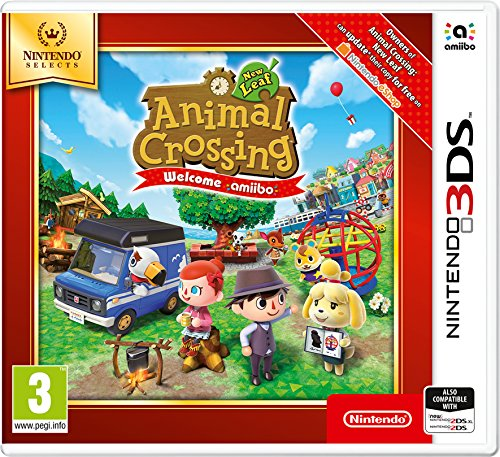 Nintendo Selects - Animal Crossing New Leaf: Welcome amiibo - Nintendo 3DS [Importación inglesa]