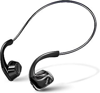 【Bluetooth5.0 骨伝導ヘッドホン】 Bluetooth イヤホン 耳掛け式 骨伝導 イヤホン 耳に塞がず 自動ペアリング スポーツ IP56防水 6時間連続再生 マイク内蔵 耳が疲れない 軽量 ハンズフリー通話 ブルートゥース ヘッ...