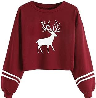 Best crop top christmas sweater Reviews