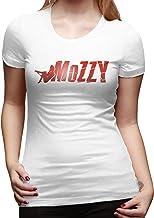 HuYanNingDSZF Women's Mozzy Funny Fashion Short Sleeve T-Shirt Top