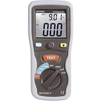 Instrument de mesure de résistance de terre VOLTCRAFT ET-02 ET-02 1 set