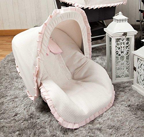 Babyline Destellos - Colchoneta para silla grupo 0, color