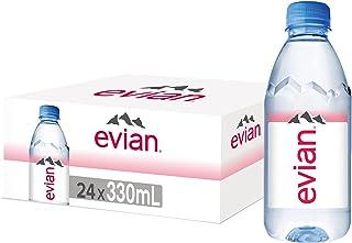 Evian Natural Mineral Water, 24 x 330ml