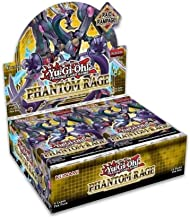 Yugioh Phantom Rage English TCG 1st Edition Booster Box - 24 Packs of 9 Cards Each