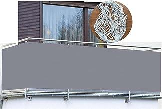 Decoratief Hek Winddicht Net Hekwerk Terras Privacyscherm Relingscherm Voor Buitenterras Veranda Appartement (13 Maten) (C...