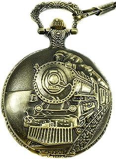 """تصویب راه آهن آمریکای شمالی ، استاندارد تنظیم راه آهن ، ساعت تماشای جیب قطار """"150th Anniversary USA"""" جنبش ژاپنی """"موتور بخار شماره"""" 1 """"(از 5 مجموعه تماشایی)"""