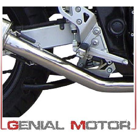 Auspuff Gpr Exhaust System Kompatibel Mit Suzuki Dr 650 Se Sp 46 1996 11 Auspuff Zugelassen Mit Satiniertem Anschluss Auto
