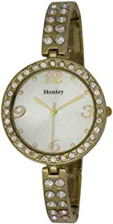 Henley Glamour Slender Bling Watch, Diamante Crystals