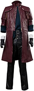 Mutrade Dante DMC 5 Cosplay Costume Deluxe Leather Aged Outfit