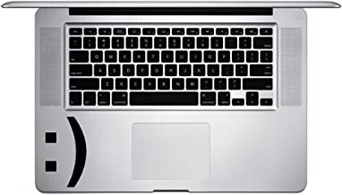 Smiley Face Emoji Emoticon Symbol Vinyl Sticker Laptop Keyboard Inside Corner iPhone Cell Decal (3.5