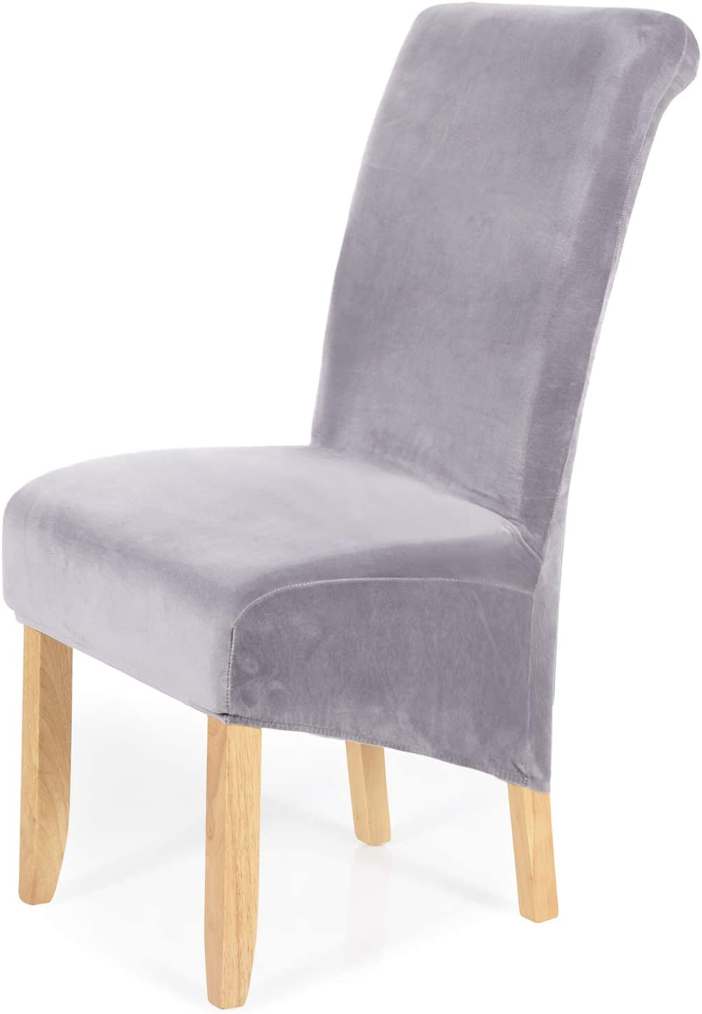 smiry Stretch Velvet Dining Selling 5 popular and selling Chair Covers Washable Lar Removable