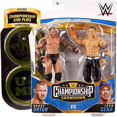 Randy Orton & John Cena Championship Showdown Series 2 WWE Mattel basic Wrestling Figure