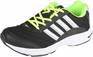 Action Campus Brass Series Balck & Silver & Fllorwsent Green Color Casual Shoes For Men ( Size :- 7UK)