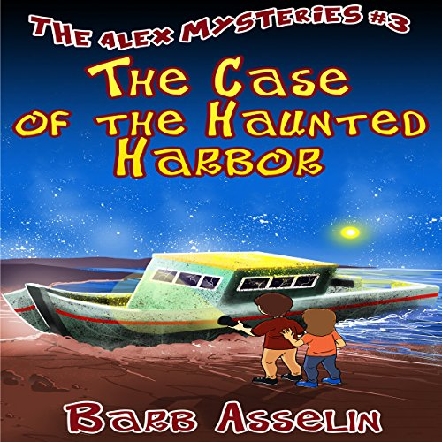 The Case of the Haunted Harbor audiobook cover art