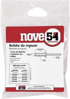 Rebite De Repuxo 4,0 Mm X 8 Mm Nove54 Nove 54