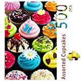 Best Jigsaw Puzzles For Adults - 500 Pieces Assorted Cupcake Jigsaw Puzzle for Adults Review