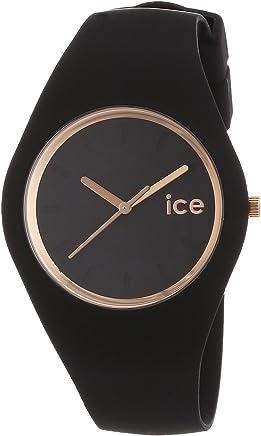 [アイスウォッチ]ICE WATCH 腕時計 ウォッチ ice glam 40mm ブラック×ローズゴールド メンズ レディース [並行輸入品]