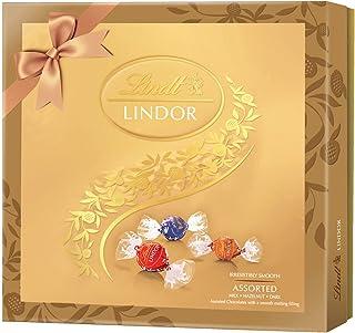 Lindt Lindor Assorted Gift Box, Golden, Large