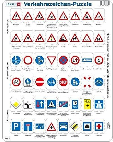Verkehrszeichen- Puzzle 48 Teile