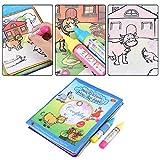 Cikonielf Disegno ad Acqua Libro da colorare Bambini Magia Pittura da colorare Libro di Stoffa Bambini Gioco educativo Apprendimento Giocattoli Divertenti per Bambini Ragazzi Ragazze età 2 3 4 5 Anni