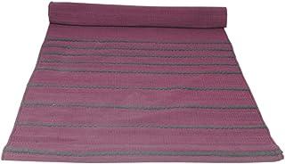 Organic cotton mat for Yoga, Pilates, Fitness, and Meditation - Pink
