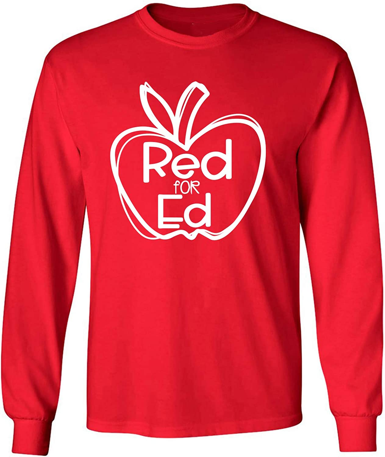 Red for Ed Adult Long Sleeve T-Shirt
