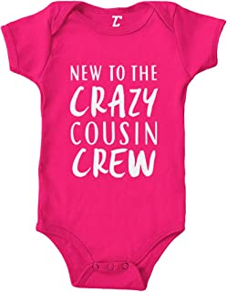 New to The Crazy Cousin Crew - Newborn Bodysuit