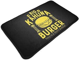 HUTTGIGH Tapete antideslizante con diseño de pulpa ficción, para hacer hamburguesa Big Kahuna