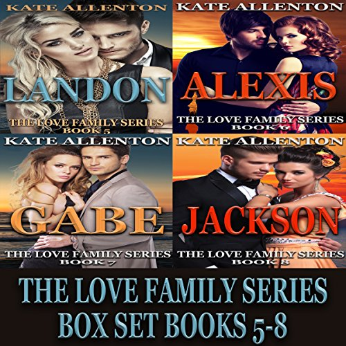 The Love Family Series Box Set, Books 5-8 cover art