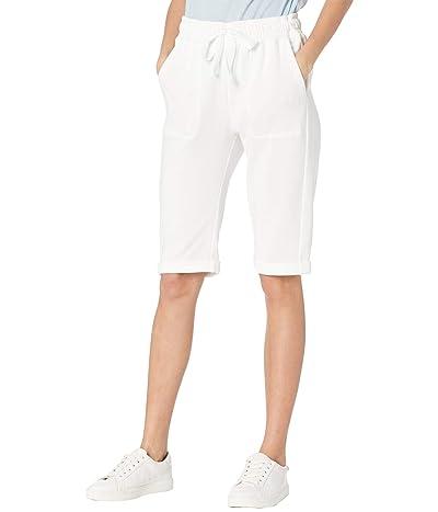Splendid Mariposa Brushed Terry Bermuda Shorts (Gardenia) Women