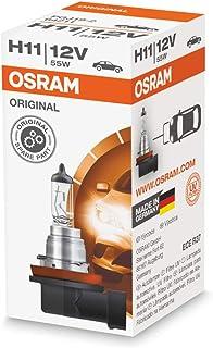 Set of 2 Osram/Sylvania Long Life Halogen H11 Headlight Bulbs # 64211L - NEW OEM - 12V / 55W - Made in Germany