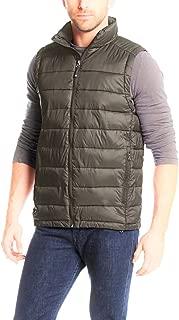 Men's Down Packable Vest X-Large, Army Khaki