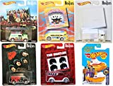 Hot Wheels 2017 The Beatles Album Covers Pop Culture Collectibles + Yellow Submarine - The White Album / Rubber Soul / A Hard Days Night / Magical Mystery Tour / Sergeant Peppers