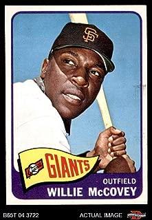1965 Topps # 176 Willie McCovey San Francisco Giants (Baseball Card) Dean's Cards 5 - EX Giants