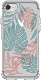 OtterBox SYMMETRY CLEAR SERIES Case for iPhone 8 & iPhone 7 (NOT Plus) - Retail Packaging - EASY BREEZY (CLEAR/EASY BREEZY)