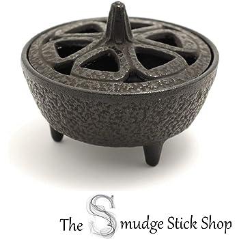 The Smudge Stick Shop Cast Iron Incense Burner