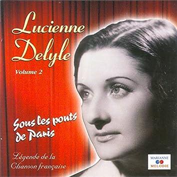 """Sous les ponts de Paris, Vol. 2 (Collection """"Légende de la chanson française"""")"""