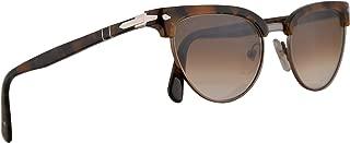 Persol PO3198S Tailoring Edition Sunglasses Dark Tortoise Brown w/Brown Gradient 51mm Lens 107351 PO 3198S PO 3198-S PO3198-S