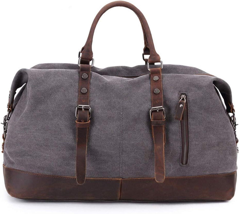 KCJMM-BAG Retro Rucksack Laptop Rucksack Schulrucksack EIN lssiger Unisex Backpack,Vintage Leinentasche aus Rindsleder, Reisetasche, Diagonaltasche, Unisex 53  23  42cm