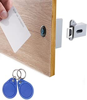 WOOCH RFID Locks for Cabinets Hidden DIY Lock - Electronic Cabinet Lock, RFID Card/Tag/Wristband Entry