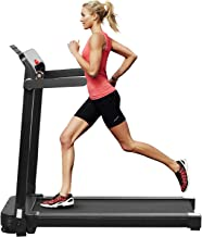 ZENOVA Folding Treadmill for Home Workout, Electric Treadmill Walking Running Machine with LED Display Easy Assembly Under...