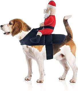 Midlee Santa Claus Jockey Dog Costume